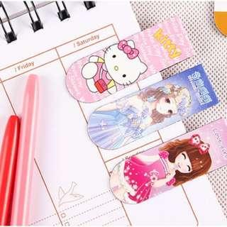 Magnetic Bookmark Gift - Hello Kitty Doraemon Totoro Minions
