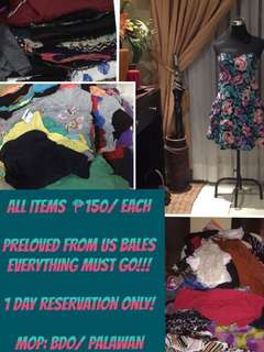 PRELOVED DRESSES (US BALES)