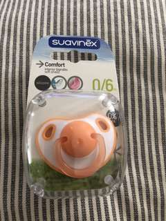 Suavinex soother silicone. Teat 0-6m