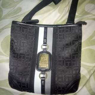 Authentic tommy sling bag