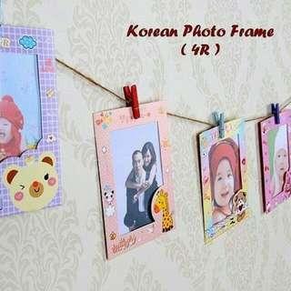 Korean Photo Frame (4R)