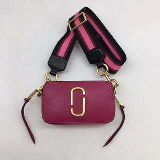 Marc Jacobs Snapshot Camera Bag - pink x orange