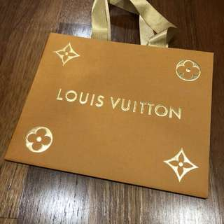Louis Vuitton Paper Bag Christmas 2017