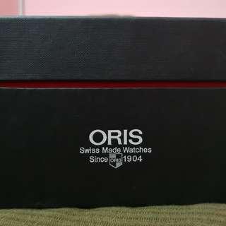 Oris Williams F1 team day date Ref.7560 blue carbon dial