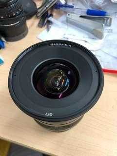 Sony wide angle 11-18mm F4.5-5.6 A mount sal1118