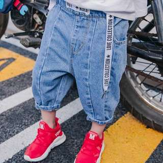 Kids fashion boy jeans