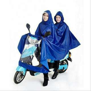 Waterproof double motor raincoat resell 300 only 😊 Blue violet red green 👏