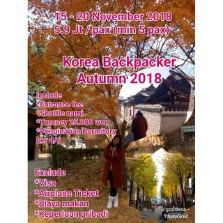 Korea Tour Autumn