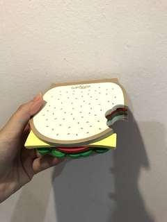 SMIGGLE Hamburger Notes