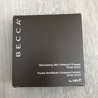 Brand new Becca Shimmering skin perfector presser in Rose gold