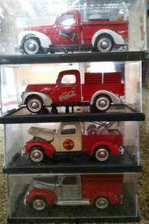 Vintage 1940 Ford Replica heavy die castCoca cola trucks