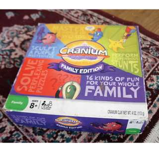 Cranium Family Edition Boardgame