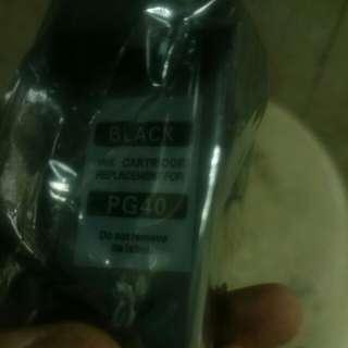 canon pg40 代用墨盒