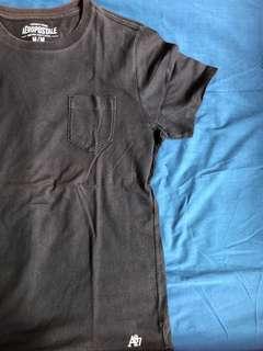 Black pocket shirt
