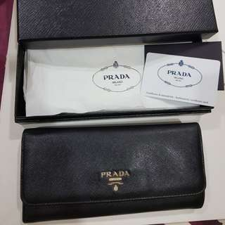 Prada wallet from Paris Prada Lafayette