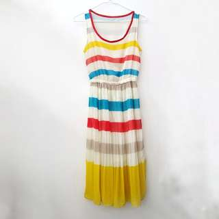 Designer-inspired Striped Dress