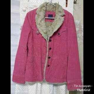 Fuschia Maong Furr Jacket