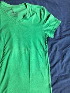 Giordano Green plain shirt