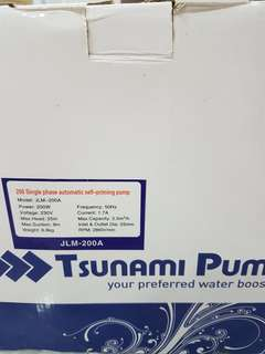TSUNAMI Water Pump JLM-200