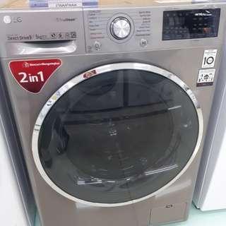 Mesin Cuci LG 9kg Top Loading PROMO Cicilan DP 0%