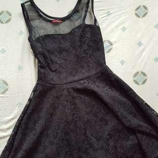 Petit Monde Black Mini Dress