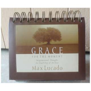 Grace for the Moment, DayBrightener Perpetual Flip Calendar, 366 Days of Inspiration by Max Lucado