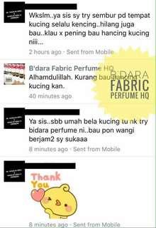 B' dara Fabrik Perfume