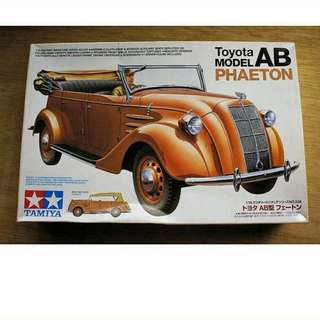 Tamiya: Toyota Model AB Phaeton Kit 1/35 Scale