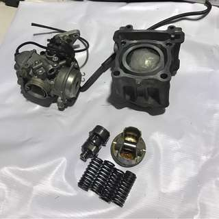 Carburettor Block Cam Yamaha 135LC V2 5 speed