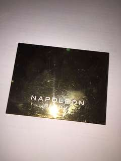 Napoleon Perdis eyeshadow palette