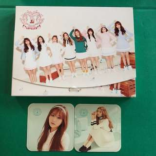 LOVELYZ - LOVELINUS WITH PHOTOCARDS