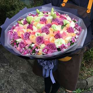 Flower Bouquet∕Hand Bouquet∕Birthday Bouquet∕Anniversary Bouquet∕Proposal Bouquet∕Graduation Bouquet - 30D4     120