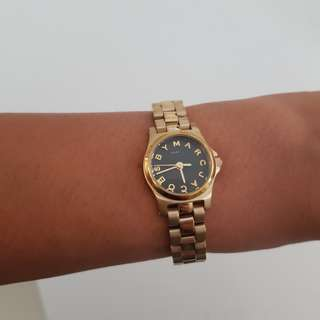 Marc Jacobs gold plated watch