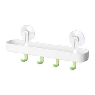 [IKEA] GLÖMSTA Tray with 4 hooks and suction cup