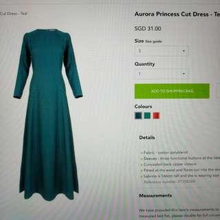 Poplook Aurora Princess Cut Dress