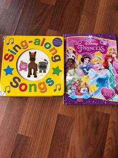 Disney's Princess book & Sing-Along book