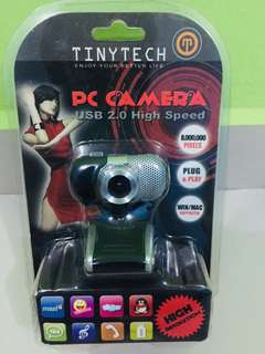 Tinytech usb pc camera with microphone (cam-pc003)