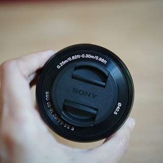 Lensa Kit Sony A6000 E 3.5-5.6/PZ 16-50 OSS