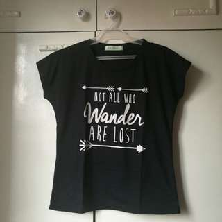 Not All Who Wander are Lost Blouse