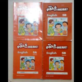 Buku My Pals are Here Primary 5 Bahasa Inggris English