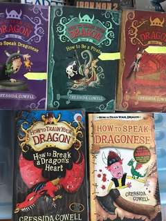 How to Train Your Dragon series by Cressida Cowell