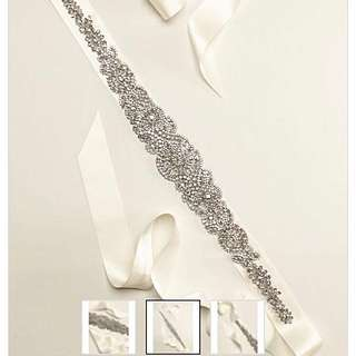 Embellished sash