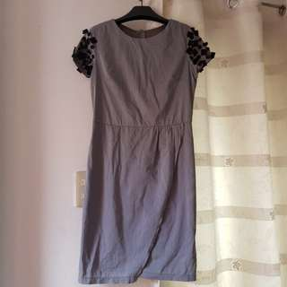 Apple and Eve Gray Dress