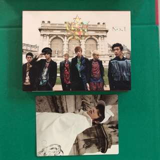 TEEN TOP - NO.1 with CAP postcard