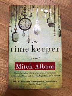 WTS hard cover Timekeeper by Mitch Albom