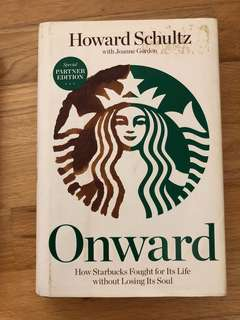 Onwards by Howard Schultz