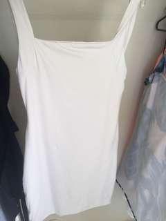 Kookai size 36 bodycon white dress