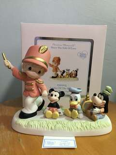 Disney Showcase Collection Precious Moments Boy Figurine : Leader of the Band