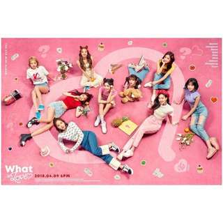Twice Album: WHAT IS LOVE