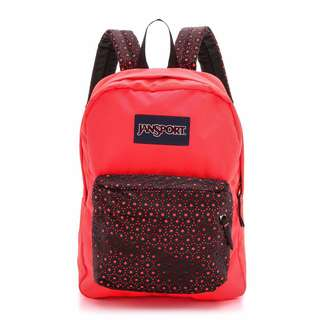 Jansport High Stakes Backpack - Black Laser Lace